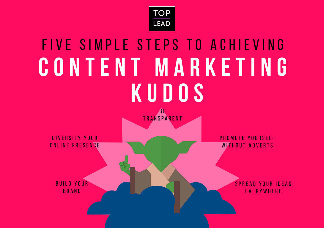 Five Simple Steps to Achieving Content Marketing Kudos