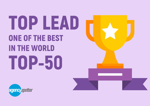 Top Lead became one of the 50 best content marketing agencies in the world!