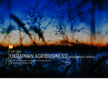 UKRAINIAN AGRIBUSINESS Infographics series