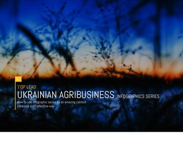 UKRAINIAN AGRIBUSINESS Infographics series