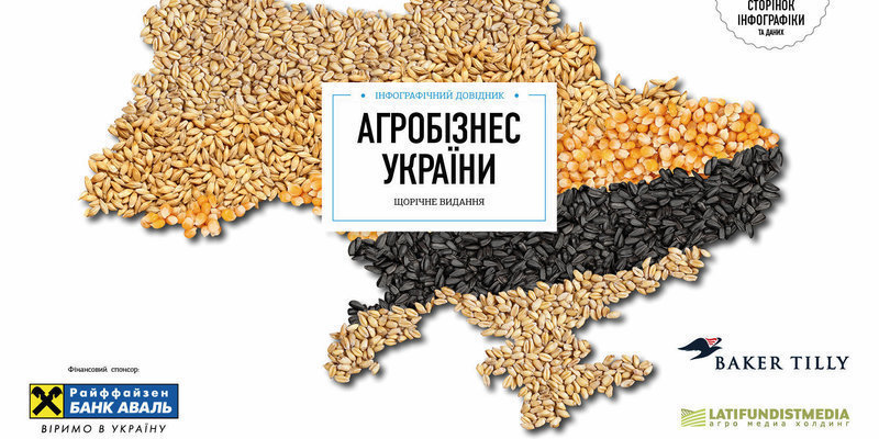 """Инфографический справочник """"Агробизнес Украины 2014"""""""