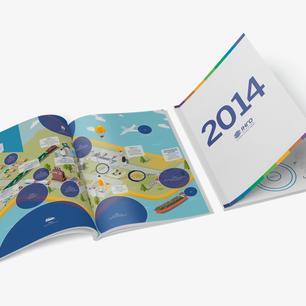"""Инфографический справочник """"Инго Украина 2014"""""""