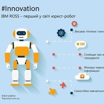 IBM ROSS — первый в мире юрист-робот