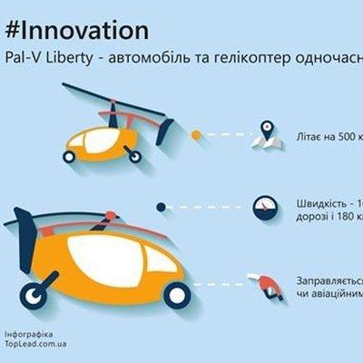 Pal-V Liberty автомобиль и вертолет одновременно