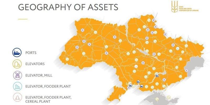 География активов — ДПЗКУ