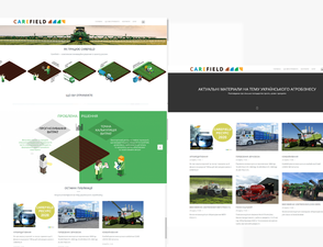 Carefield website planning & content production