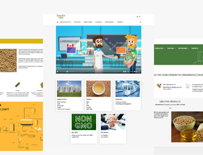 AdamPolSoya website planning & content production
