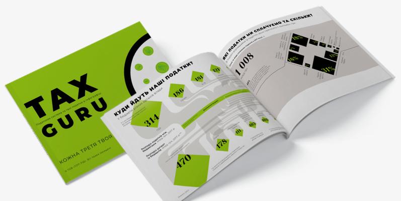 "The Infographic Report ""Tax Guru"""